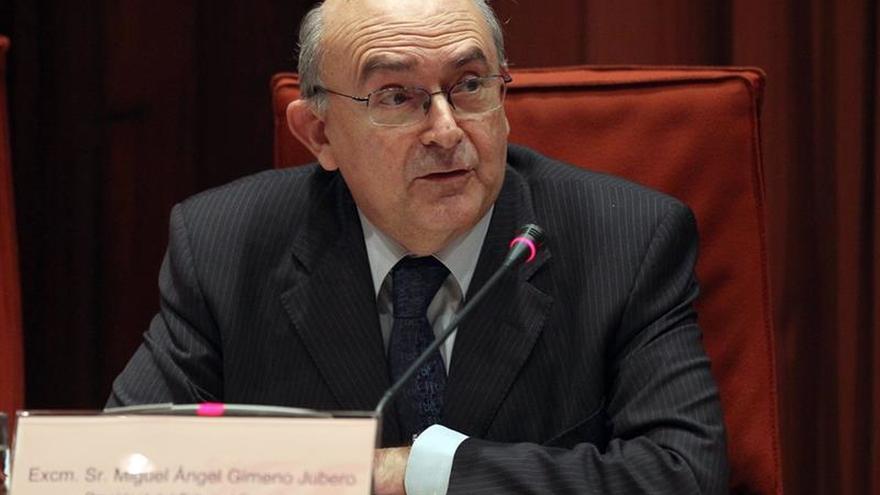 Puigdemont propone al juez Miguel Ángel Gimeno como nuevo jefe de Antifraude