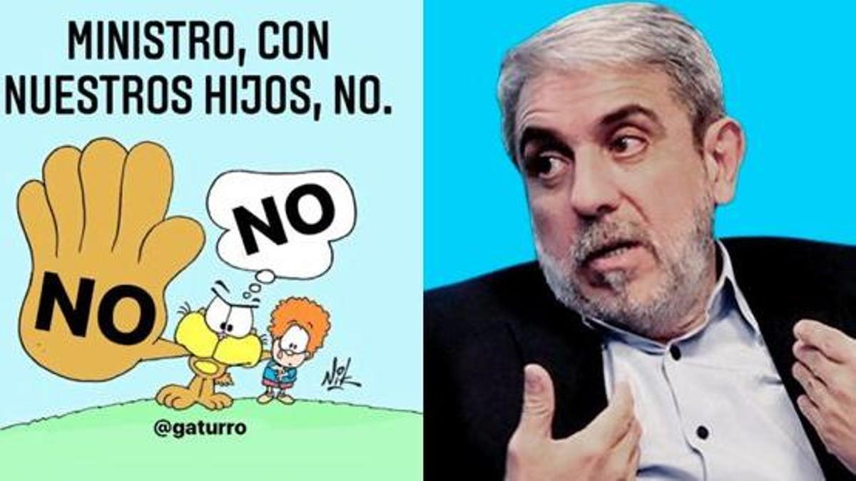 Nik y Aníbal Fernández protagonizaron polémica en redes