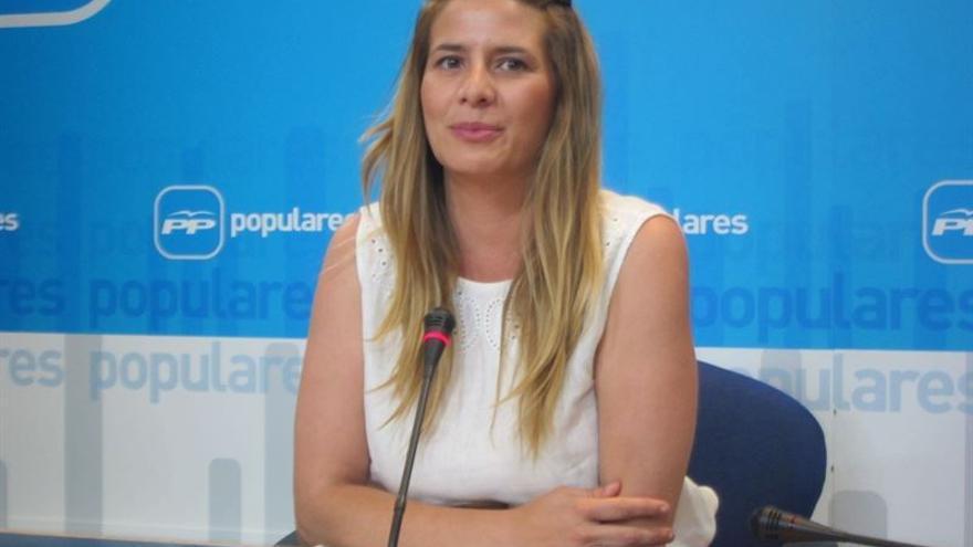 La diputada regional del PP Carolina Agudo / Foto: Europa Press