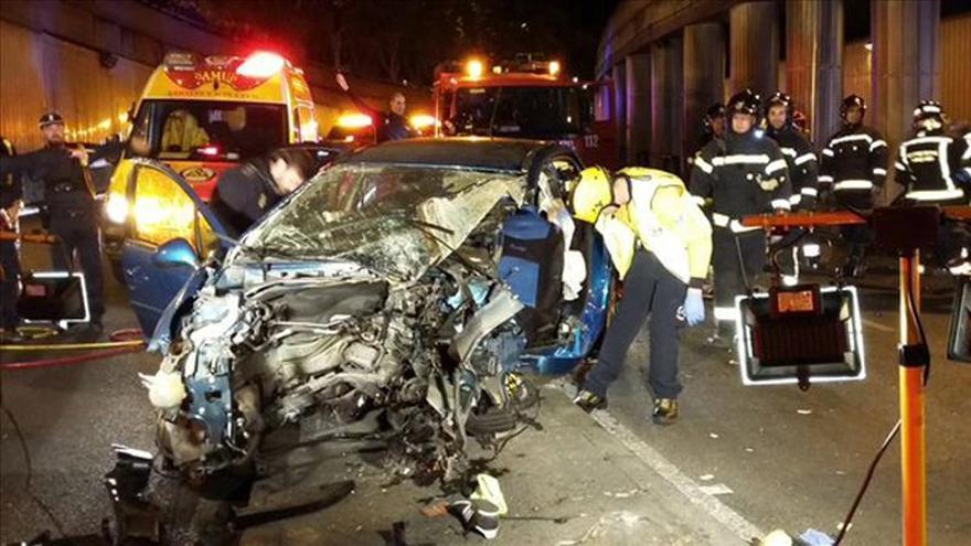 Diez víctimas mortales en accidentes en las carreteras el fin de semana