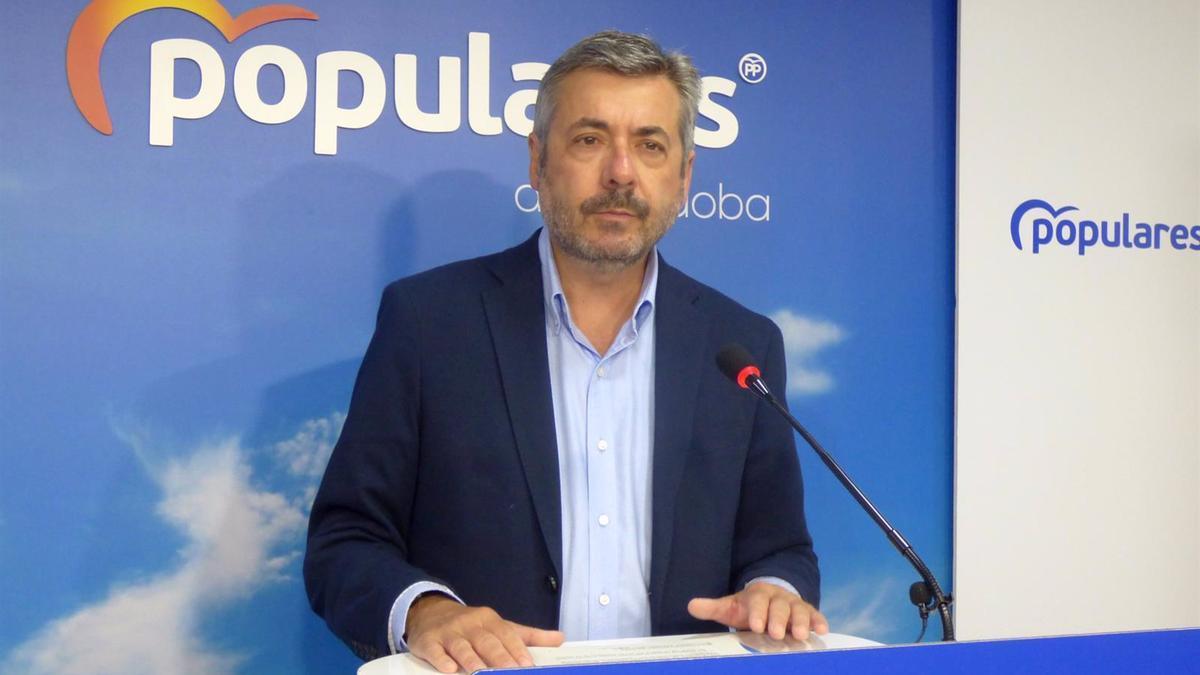 El vicesecretario de Fomento y Ordenación del Territorio del PP andaluz, Miguel Ángel Torrico.