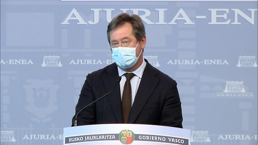 El portavoz del Gobierno Vasco, Bingen Zupiria.