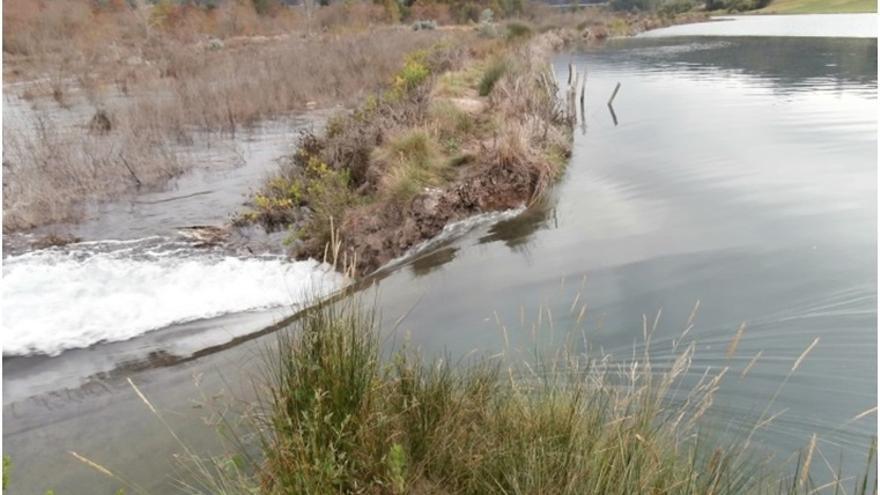 Ecologistas en Acción denuncia que la recuperación de la marisma de Rubín incumple el proyecto