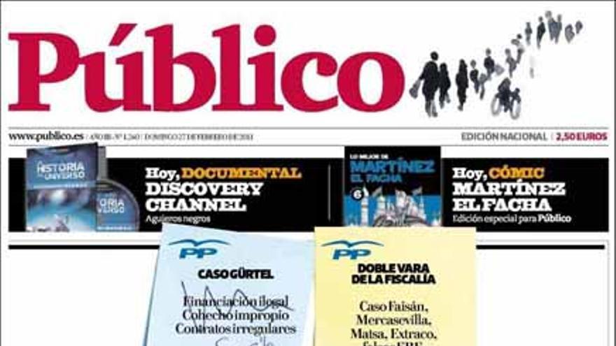 De las portadas del día (27/02/2011) #8
