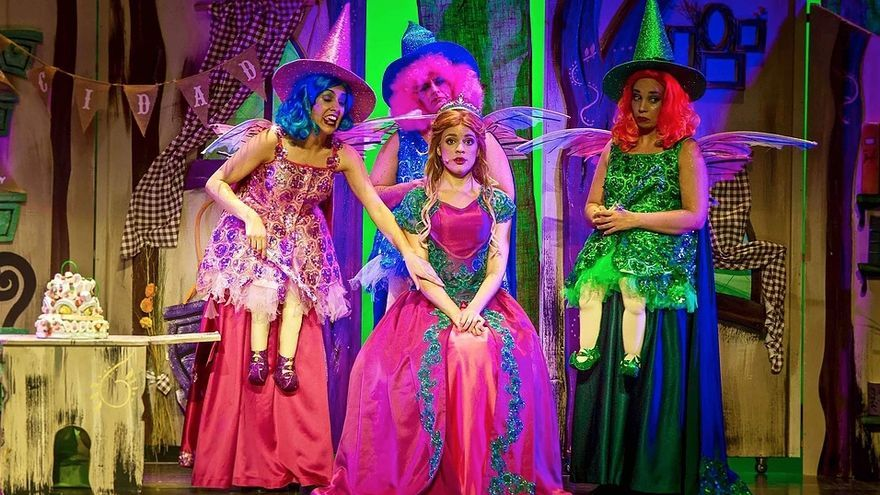Imagen del musical 'La bella durmiente'