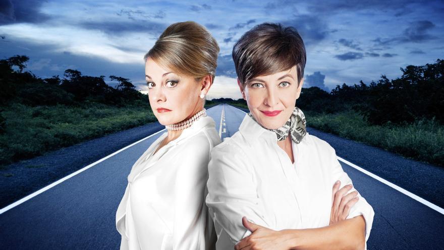 Eva Hache y Ángeles Martín protagonizan la comedia teatral 'Fisterra' el 31 de mayo y 1 de junio en el Campos Elíseos