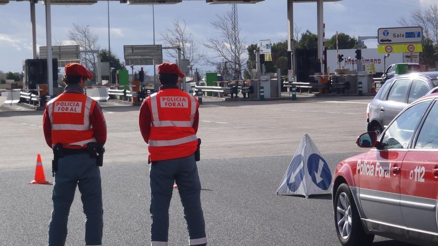La Policía Foral imputa a 47 conductores en octubre por delitos contra la seguridad vial