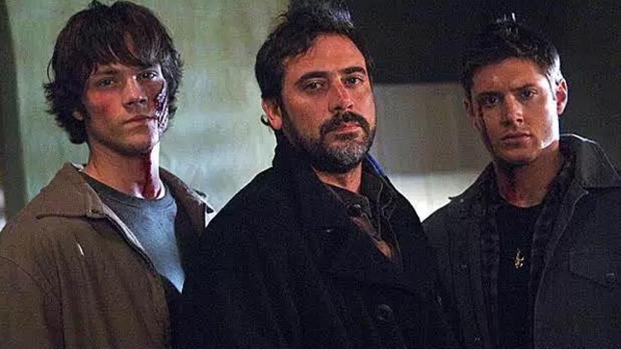 Los actores de 'The Walking Dead' y 'Supernatural' bromean con un divertido 'crossover'