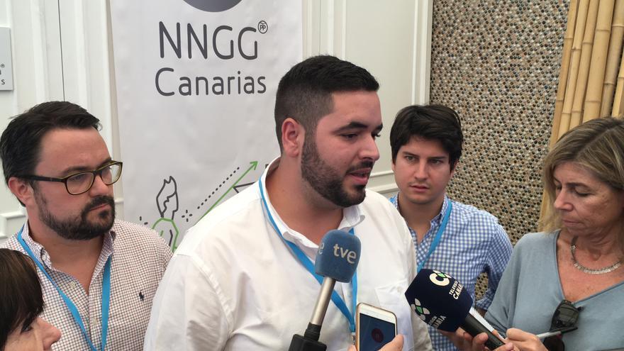Alejandro Sánchez, nuevo presidente de las Nuevas Generaciones del PP en Canarias