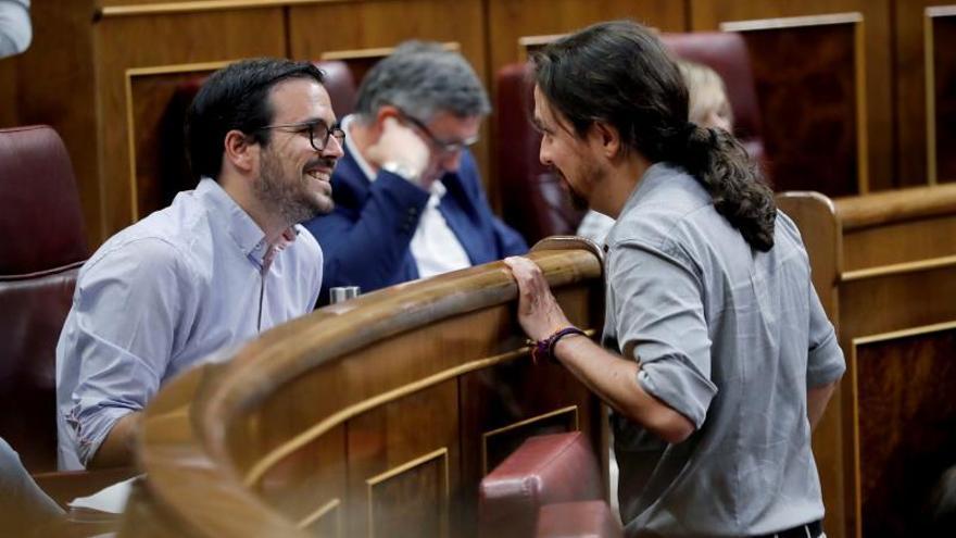 Un 61 por ciento de la militancia de IU respalda ir a las urnas con Podemos