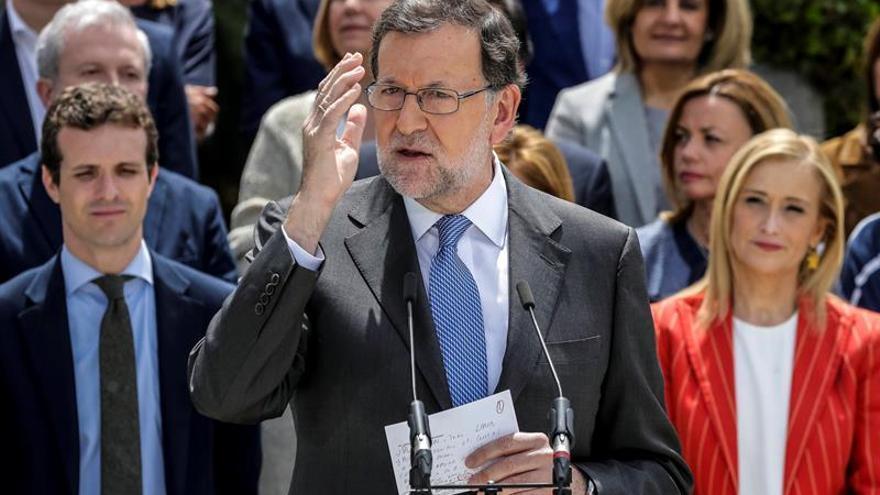 """Rajoy avisa de que la """"radicalidad es real"""" y pide apostar por la moderación"""