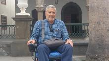 José Tarrizo se encuentra en La Palma invitado por el Cabildo. Foto: LUZ RODRÍGUEZ.