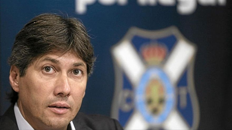 El secretario técnico del CD Tenerife, Alfonso Serrano.