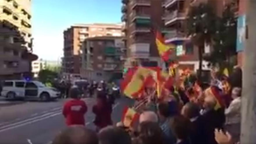 Despedida de la Guardia Civil en Santander