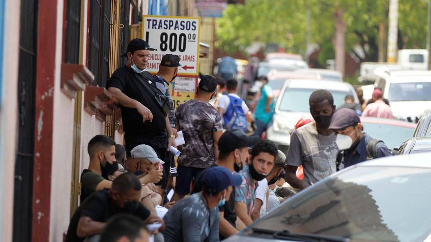 Migrantes haitianos en Honduras denuncian abusos en Centro y Suramérica