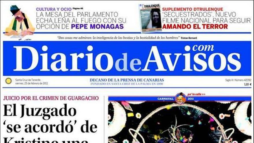 De las portadas del día (25/02/11) #3