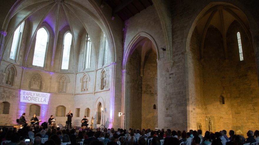 Concierto de Capella de Ministrers en 'Early Music Morella'