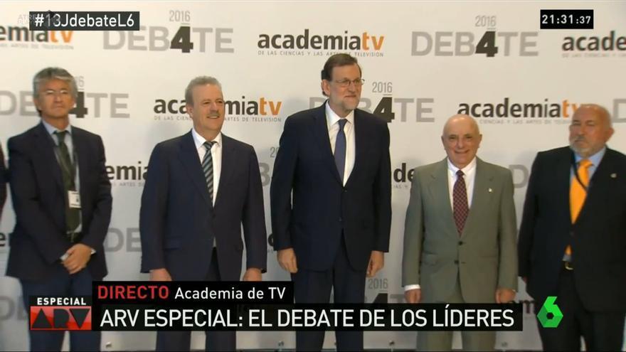 El presidente del Gobierno en funciones y candidato del Partido Popular, Mariano Rajoy