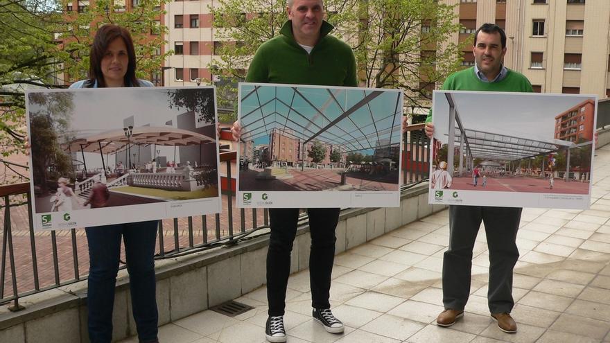 El Ayuntamiento de Sestao selecciona las tres propuestas finalistas para cubrir la Plaza San Pedro