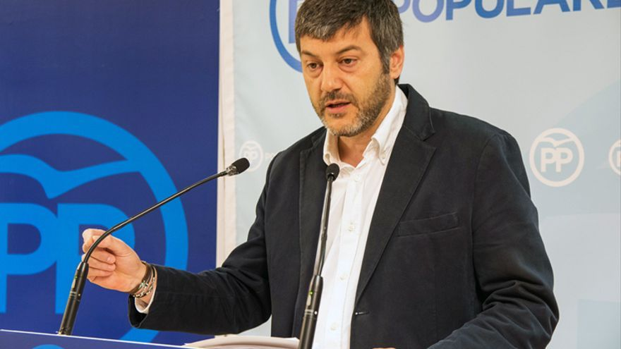 El portavoz del PP en el Ayuntamiento de Huesca, Gerardo Oliván, en una imagen de archivo