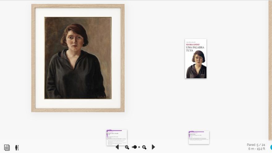 Imagen de la muestra virtual Violetas de Tinta