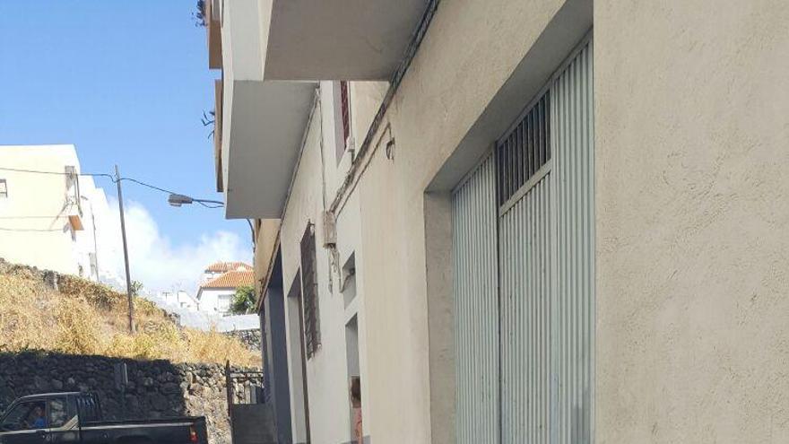 Trabajo de la Calle Morales que está siendo renovado.