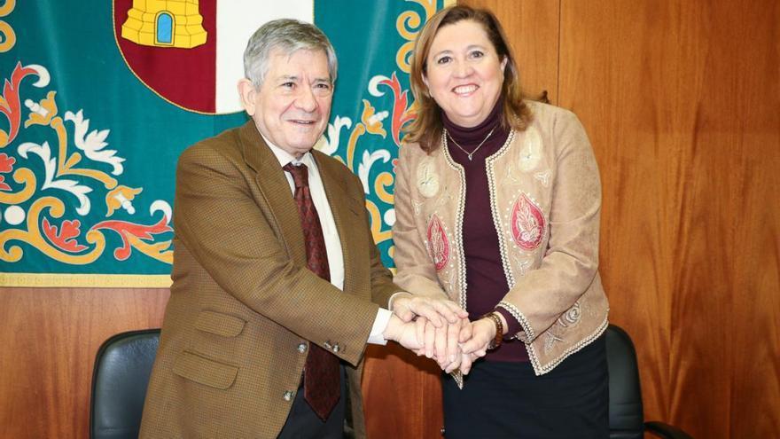 Rosana Rodríguez y Enrique Barón