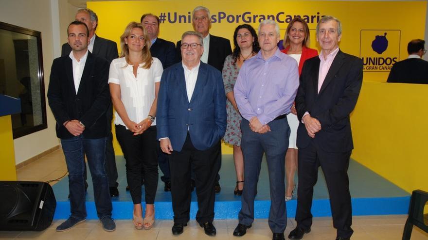 Candidatos de Unidos por Gran Canaria.