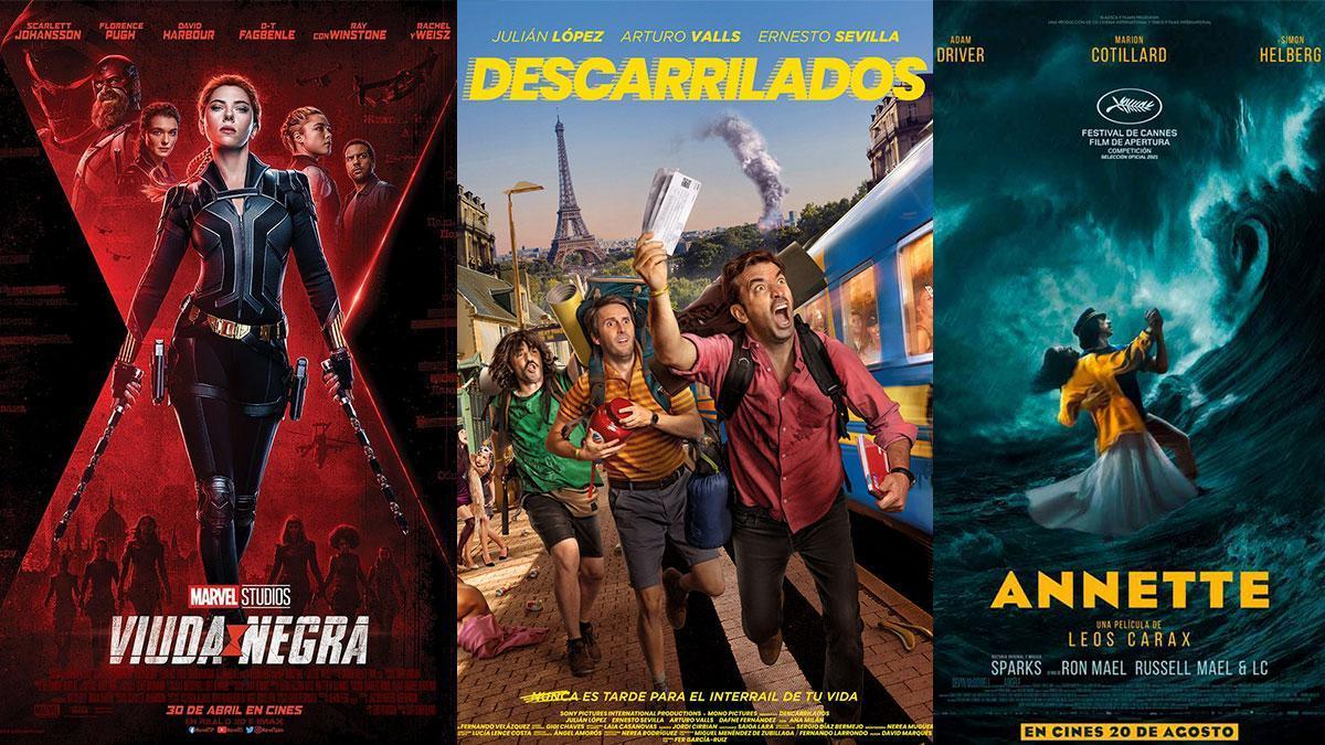Cartelera del cine de verano para este fin de semana