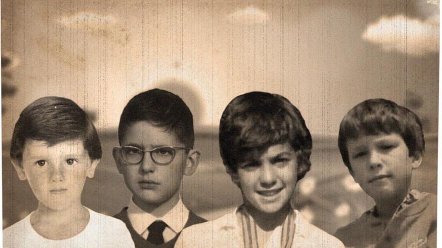 Albert Rivera, Mariano Rajoy, Pedro Sánchez y Pablo Iglesias cuando eran niños