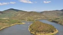 El Río Alagón se estrena en tierras extremeñas con el espectacular Meandro del Melero. Luis Rogelio HM