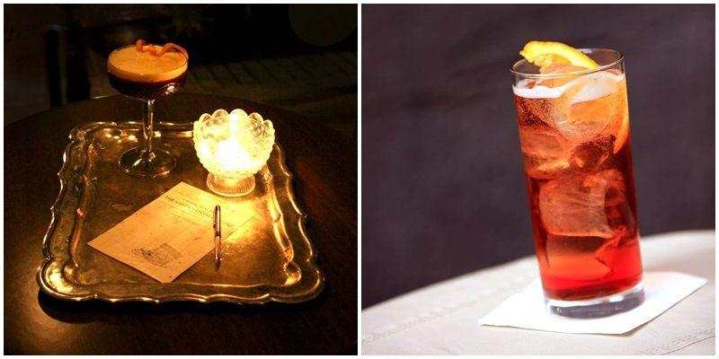 Dos de los cócteles con vermut que ofrece el 1862 Dry Bar