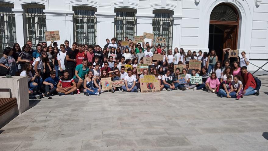 Manifestación por el clima en Tomelloso