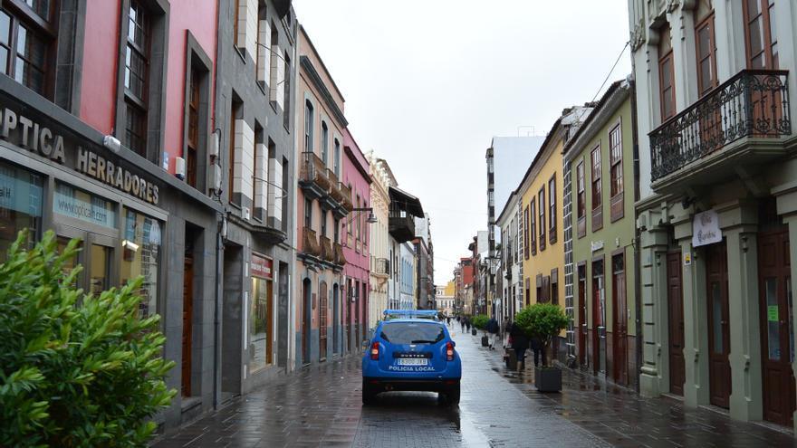 Una de las calles principales del casco histórico de La Laguna, en una imagen de archivo