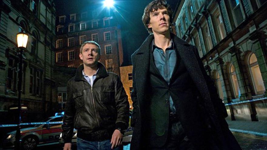 """""""Sherlock"""" competirá con """"Cuéntame"""" y """"Gran Hermano 12+1"""" en la noche de los jueves"""