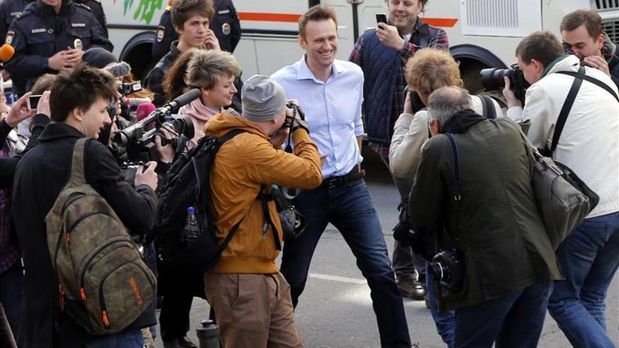 La Justicia rusa levanta el arresto domiciliario al líder opositor Navalni