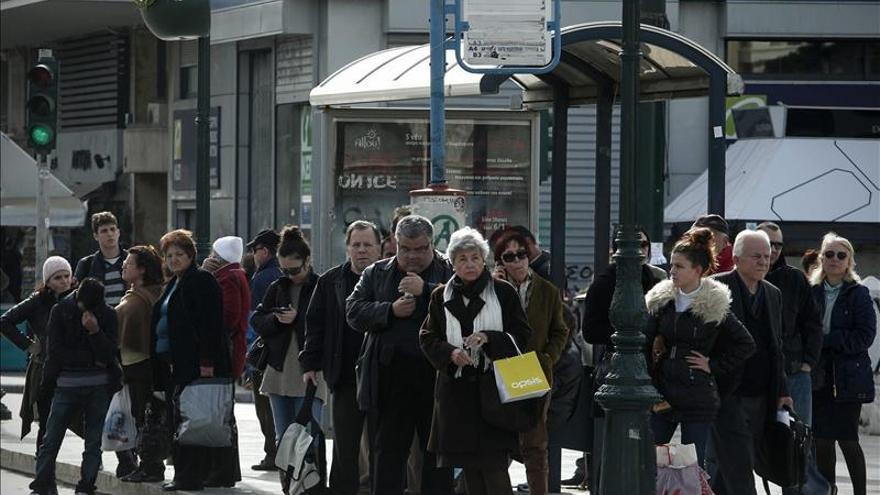 El metro de Atenas inmovilizado por séptimo día consecutivo
