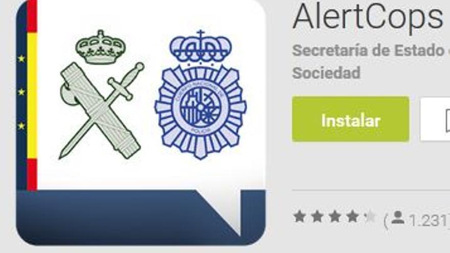 alertcops, app