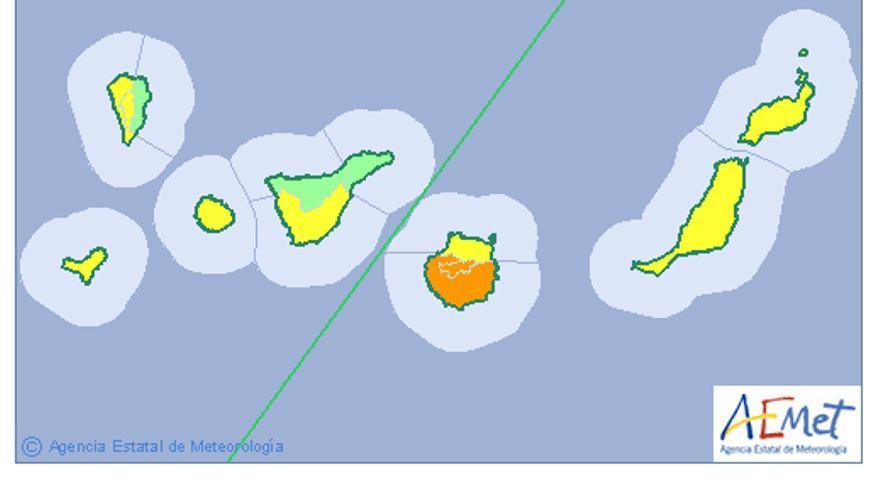 Previsión del tiempo en Canarias para el miércoles 10 de agosto
