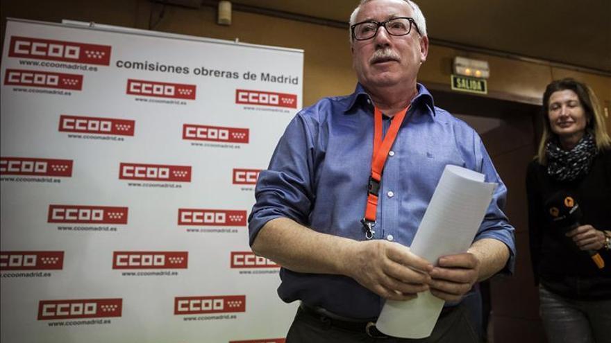 CCOO pide generosidad a los partidos para evitar nuevas elecciones
