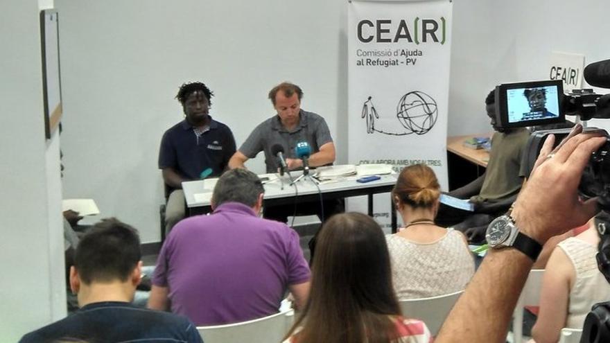 Imagen de un acto de CEAR-PV