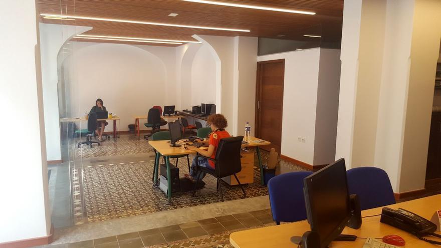 En la imagen, Oficina de Juventud del Cabildo.
