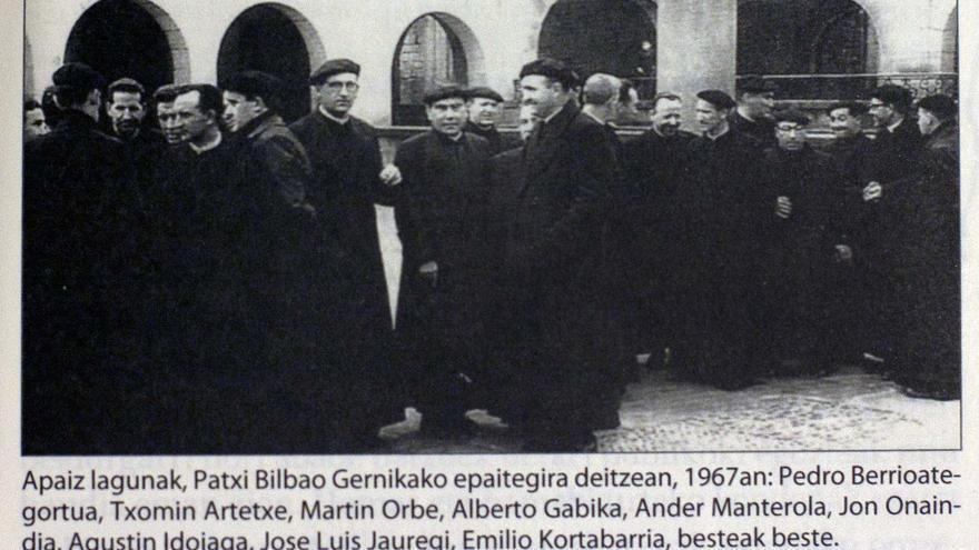 Fotografía que aparece en el libro 'Zamorako Apaiz-Kartzela'