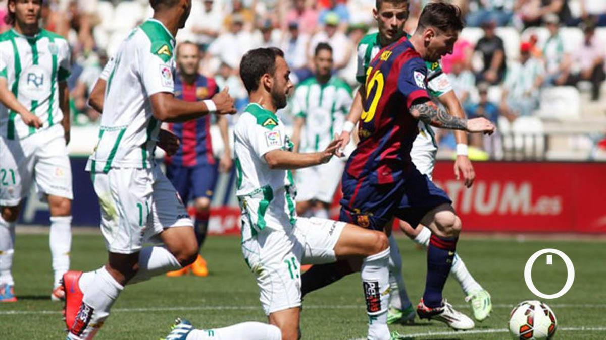 Messi, ante el Córdoba en El Arcángel