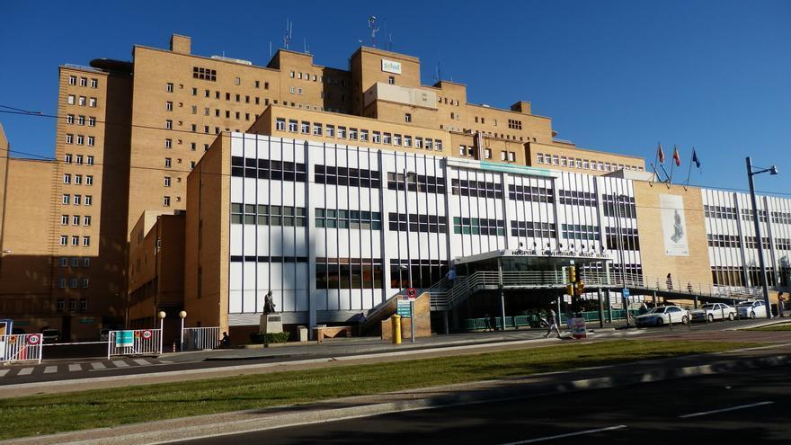 La niña falleció en el Hospital Miguel Servet de Zaragoza.
