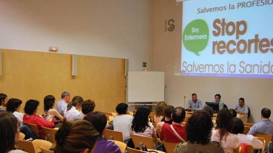 Asamblea del sindicato de enfermería en Ciudad Real