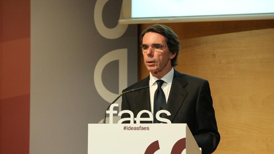 """Aznar rechaza reformar la Constitución: """"No debe ser el pago a plazos al secesionismo catalán"""""""