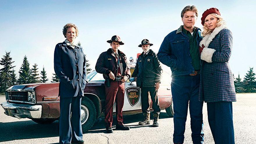 Los protagonistas de la nueva 'Fargo'