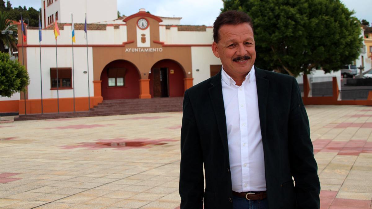 Gregorio Alonso Méndez, alcalde de Fuencaliente.