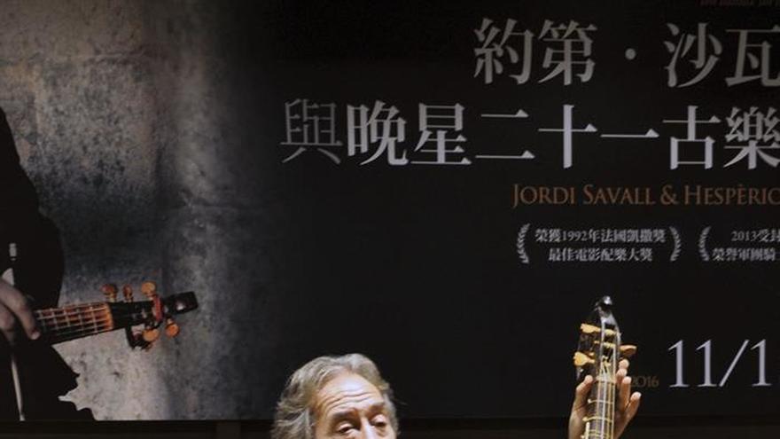 """El músico catalán Jordi Saval presenta con gran éxito en Taiwán """"Ibn Battuta"""""""